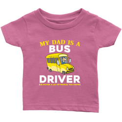 my Dad is a Bus Driver - infant