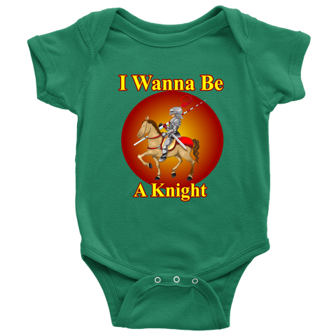 I wanna be a Knight - onesie