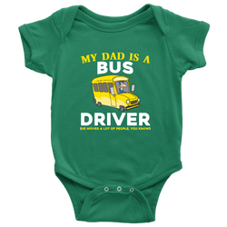my Dad is a Bus Driver - onesie
