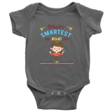 World's Smartest Kid - onesie