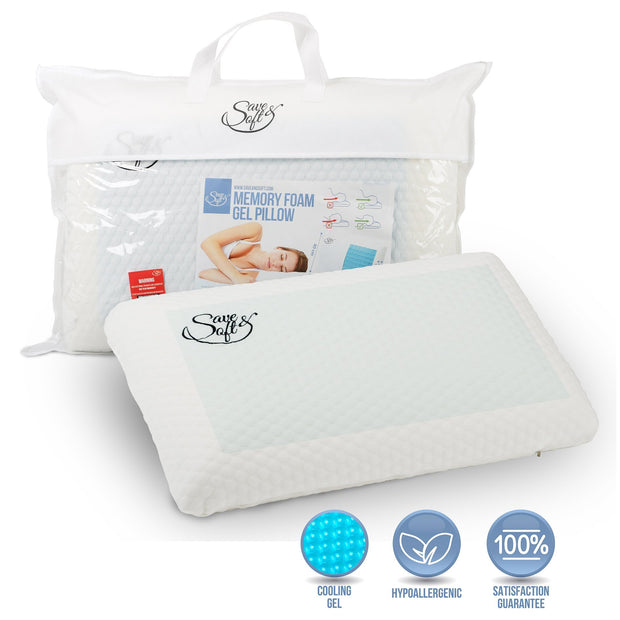 Save&Soft Pillow Big Pillow with Cooling Gel