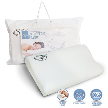 Save&Soft Pillow Orthopedic Memory Foam Pillow