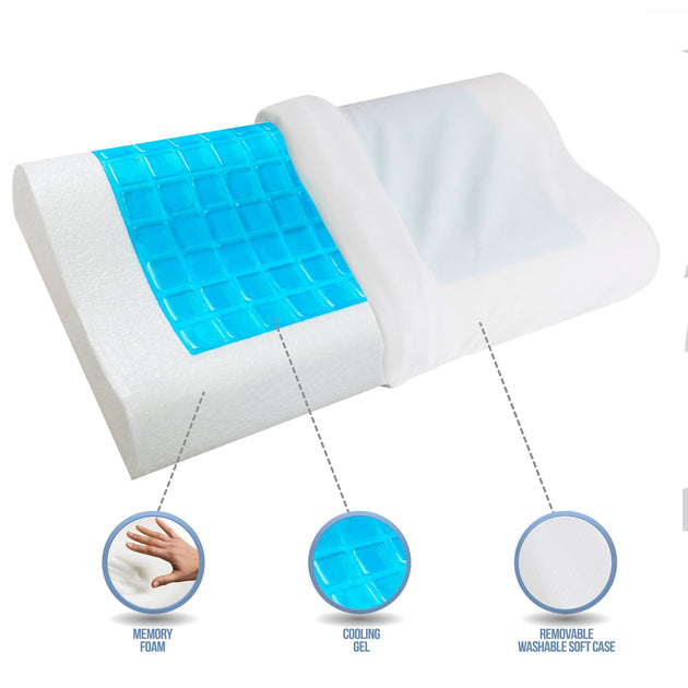 Buy The Best Pillow For Neck And Back Pain With Cooling