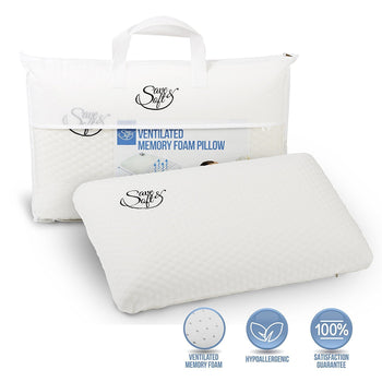 Save&Soft Pillow Ventilated Orthopedic Memory Foam Pillow