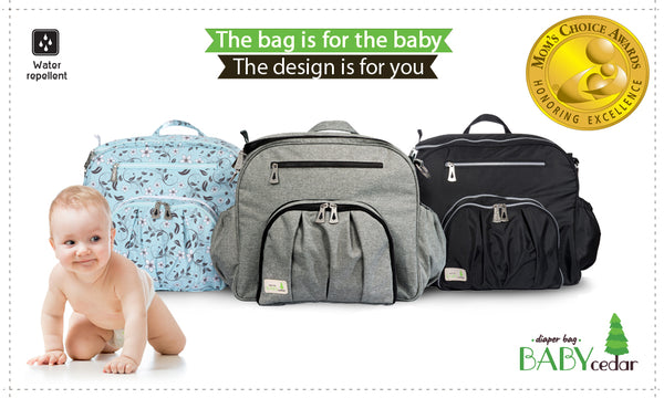 What makes Baby Cedar Diaper bag so successful?