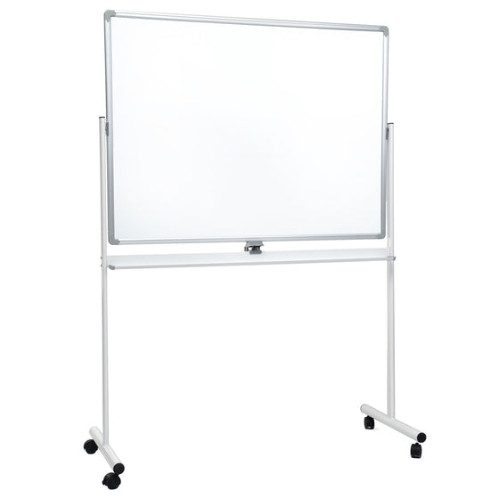 Rolling White Board on Wheels