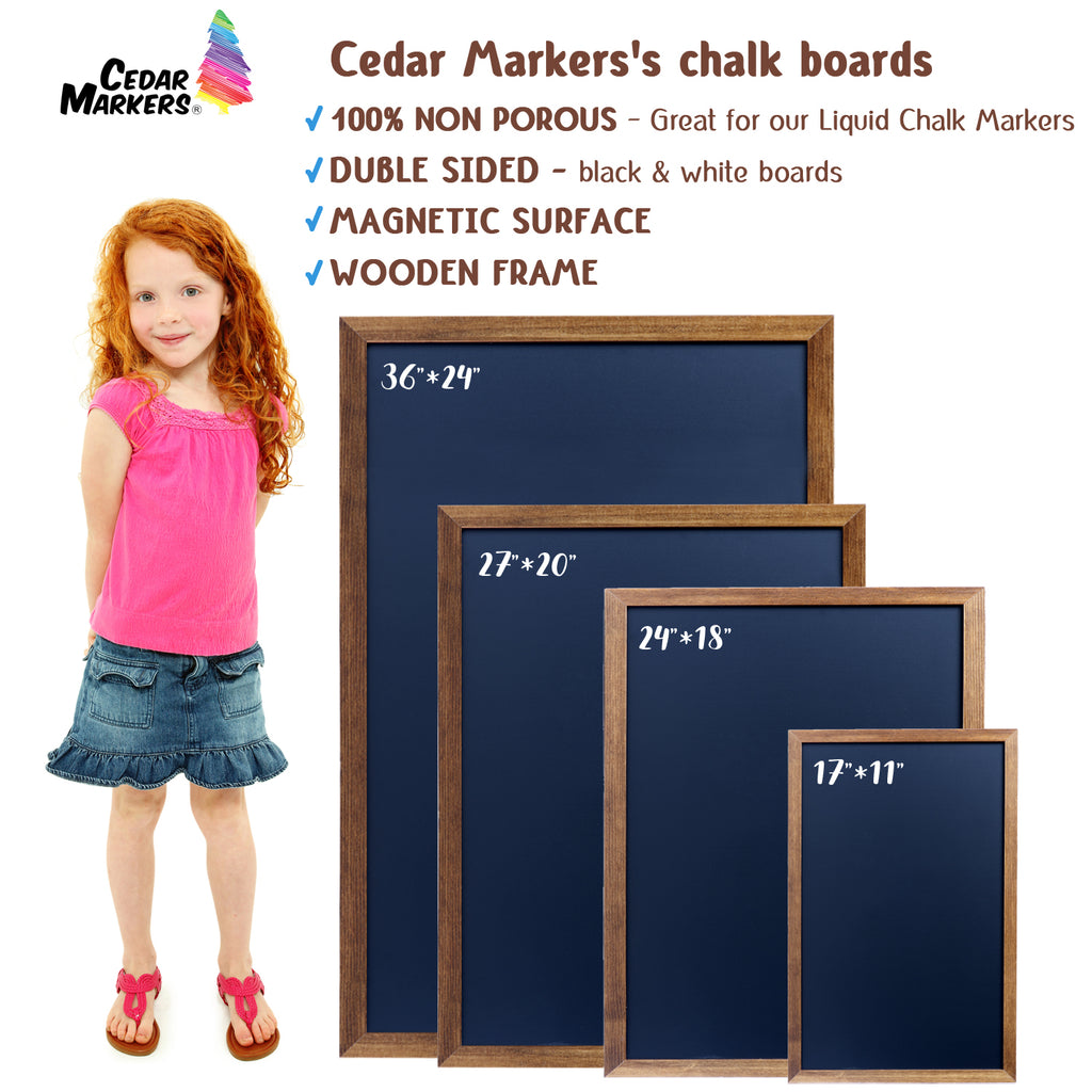 Magnetic Chalkboards in different size