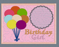 Birthday Girl Mug Rug 5x7
