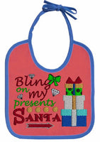 Bling On My Presents Santa 5x4