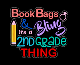 Book Bags & Bling 5x7