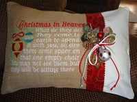 Christmas In Heaven 9x6