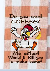 Do You Smell Coffee 5x7