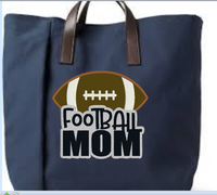 Football Mom Applique 5x5