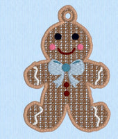 FSL Gingerbread Man 4x4