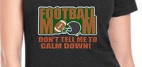 Football Mom Applique 5x7