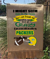 I Might Seem 9x6 Packers