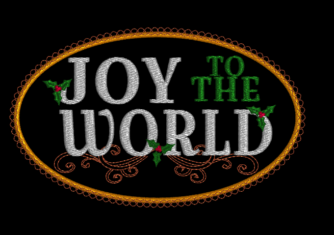Joy To The World with Holly 5x7