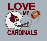 Love My Cardinals 5x5