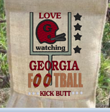 Love Watching Georgia Kick Butt 9x6
