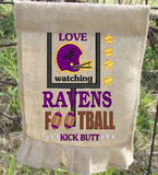 Love Watching Ravens Kick Butt 9x6