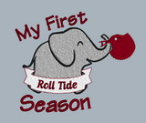 My First Roll Tide Season 5x5