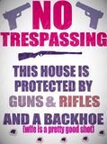 No Trespassing SVG