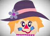 Scarecrow Girl SVG