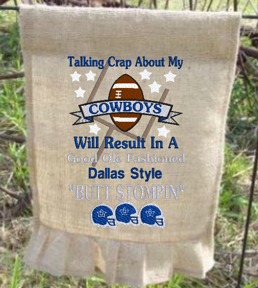 Talking Crap About My Cowboys 9x6