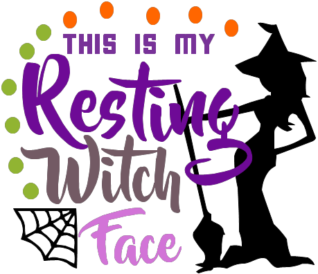 This Is My Resting Witch Face SVG