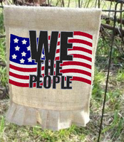 We The People Flag 9x6