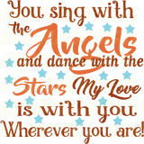 You Sing With The Angels #2 SVG