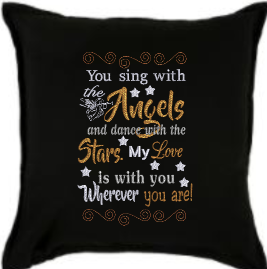 You Sing With The Angels 9x6