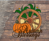 Autumn Blessings 5x7