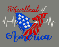Heartbeat of America 5x7