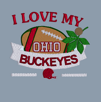 I Love My Buckeyes 5x5