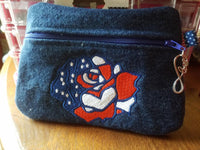 Red White & Blue Rose  4x4