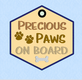 Precious Paws On Board ITH 5x5