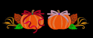 Pumpkin Set of 2  (5x7 each)