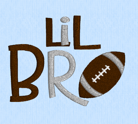 Lil Bro Football 4x4