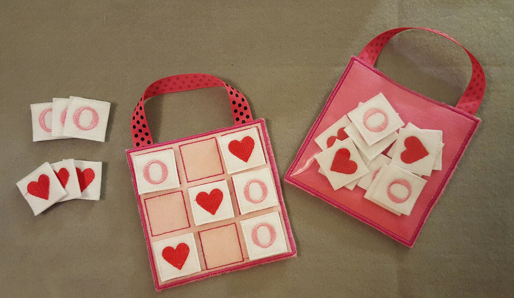 Tic Tac Toe Board  (Valentines Day)