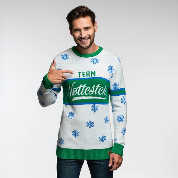 Team Nøttestek (Herre) Christmas Sweater Mens SillySanta