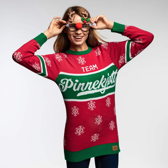 Team Pinnekjøtt (Dame) Christmas Sweater Womens SillySanta