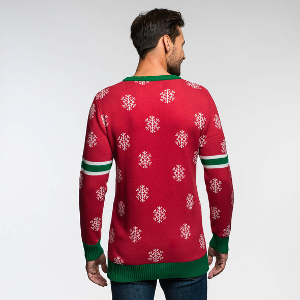 Team Pinnekjøtt (Herre) Christmas Sweater Mens SillySanta