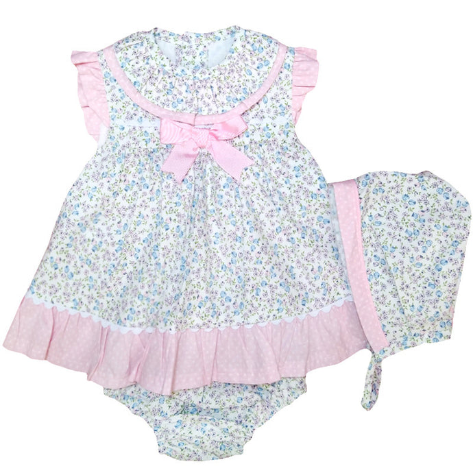 Pastel Tiny Floral Dress Set