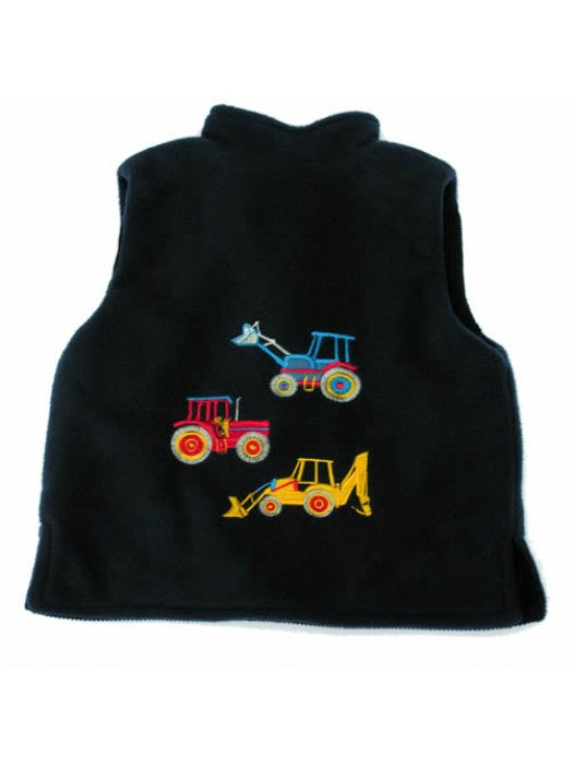 Big Machines Navy Gilet