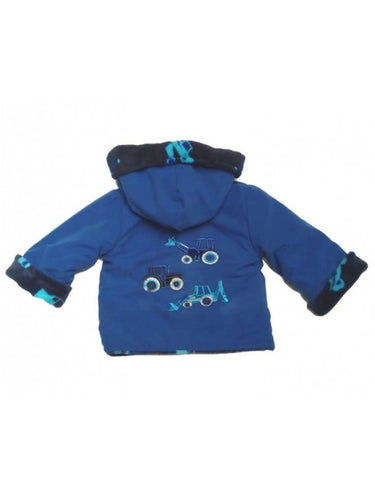 Fleece Lined Reversible Coat
