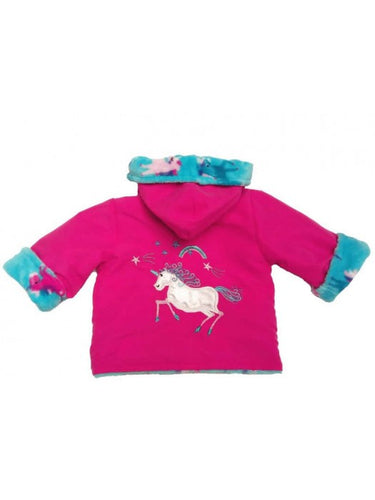 Cerise Unicorn Coat