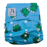 Cloth Diaper One Size Aplix - Lucky Frok