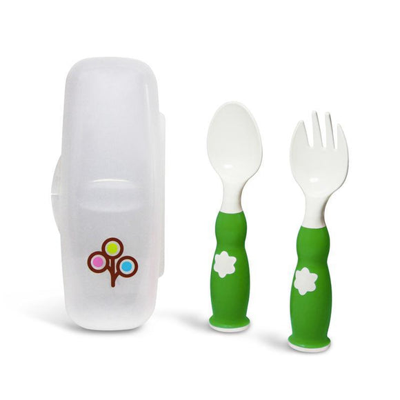 ZoLi Fork & Spoon - Green