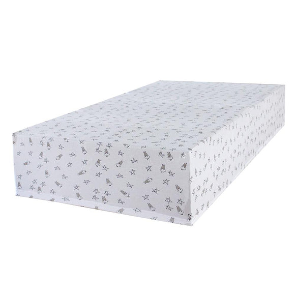 Mattress Sheet Small Star & Sheepz White